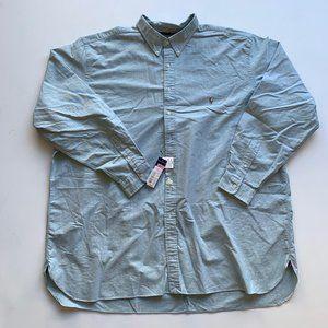 NEW Ralph Lauren Men's Button Up Shirt 4XLT